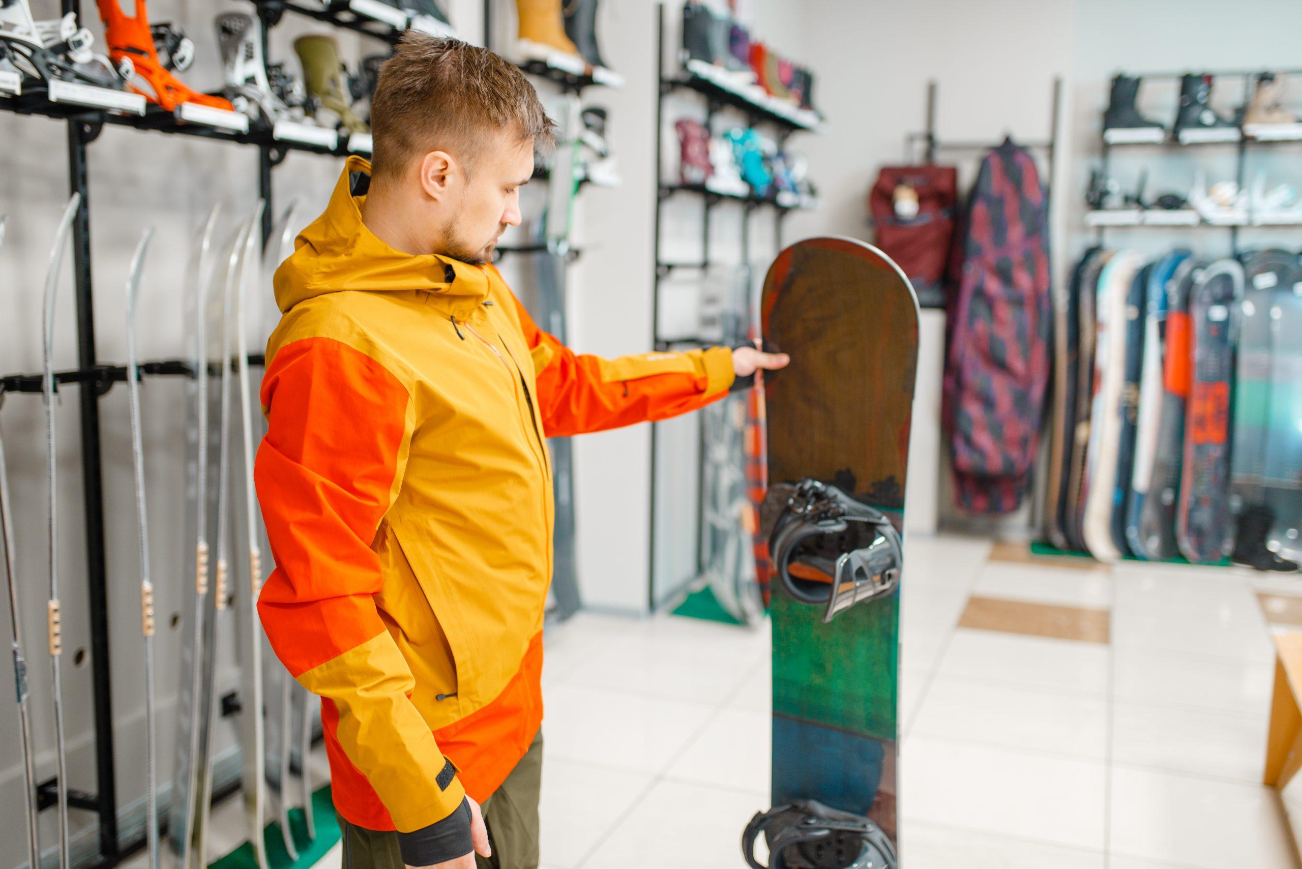 Größentabelle Snowboard